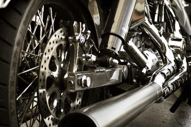 バイクの改造車を売却